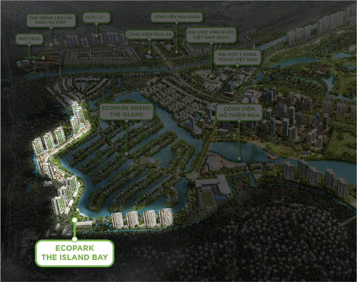 Căn hộ SOL Forest Ecopark ở đâu?